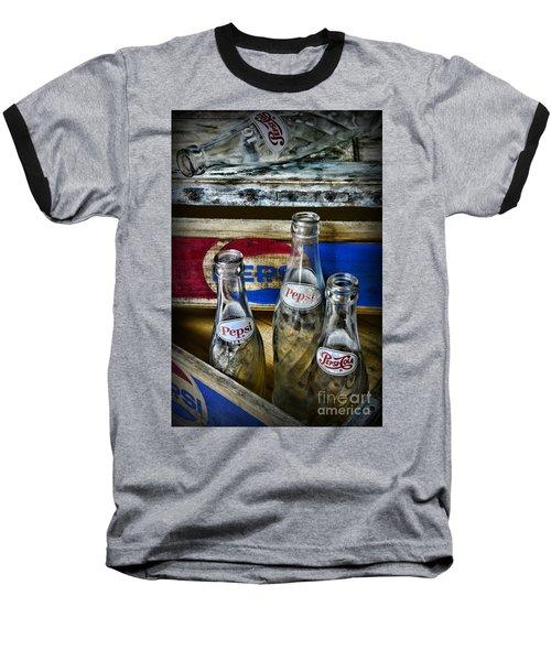 Pepsi Bottles And Crates Baseball T-Shirt