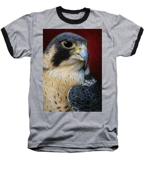 Peregrine Falcon Baseball T-Shirt
