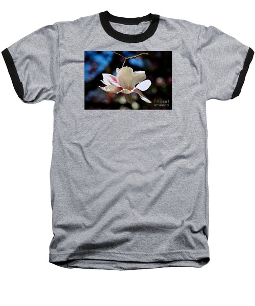 Perfect Bloom Magnolia Baseball T-Shirt