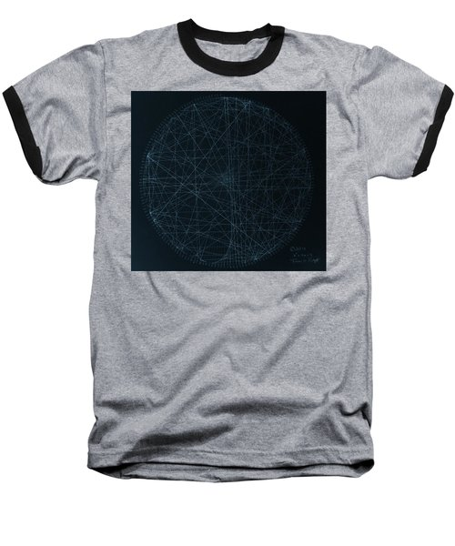 Baseball T-Shirt featuring the drawing Perfect Square by Jason Padgett