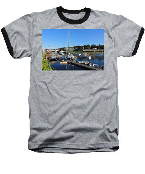 Perkins Cove Ogunquit Maine 2 Baseball T-Shirt