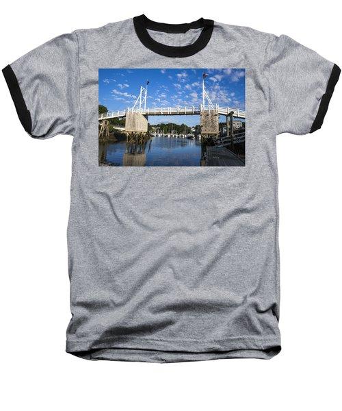 Perkins Cove - Maine Baseball T-Shirt