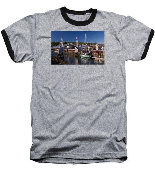 Perkins Cove Ogunquit Maine Baseball T-Shirt