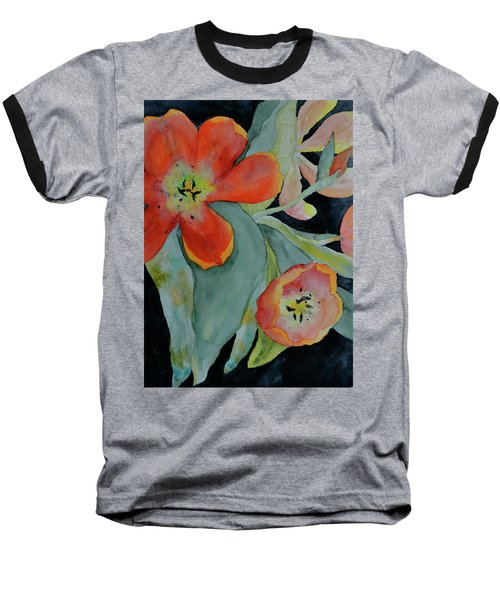 Baseball T-Shirt featuring the painting Persevere by Beverley Harper Tinsley