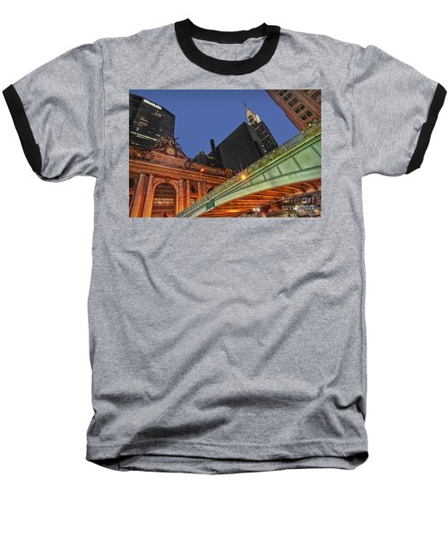Pershing Square Baseball T-Shirt by Susan Candelario