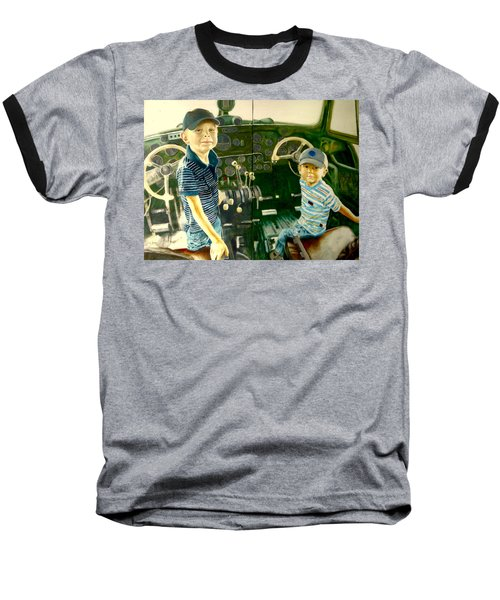Personnel Baseball T-Shirt by Henryk Gorecki