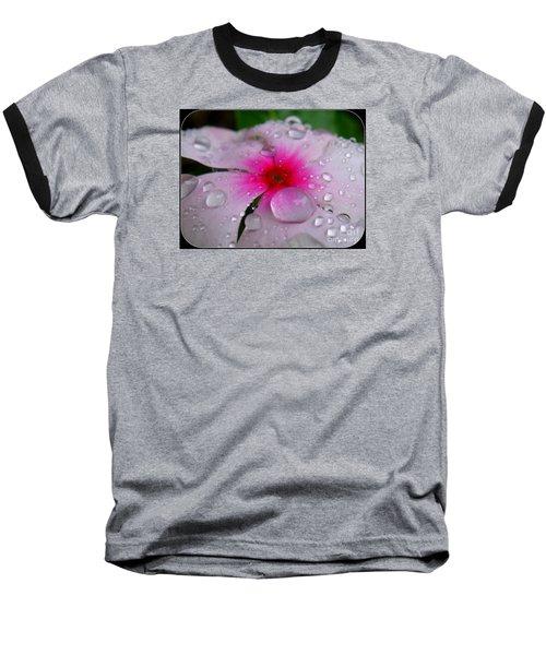 Baseball T-Shirt featuring the photograph Petal Surfing by Patti Whitten