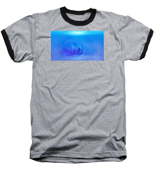 Blue Ocean Baseball T-Shirt