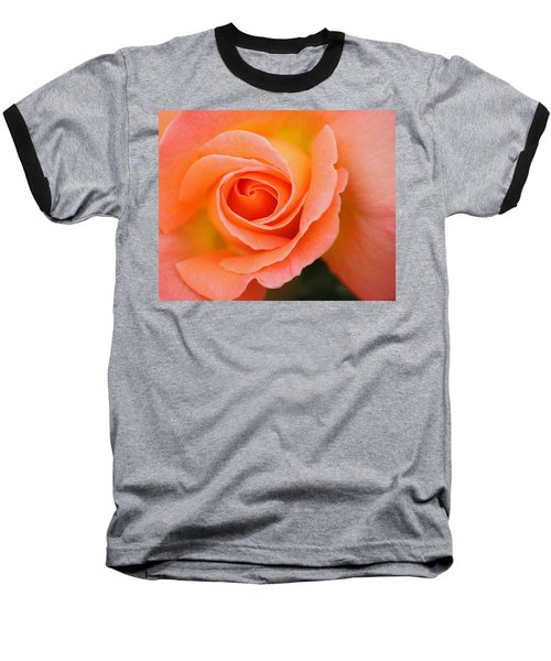 Baseball T-Shirt featuring the photograph Petals Of Peach by Rowana Ray