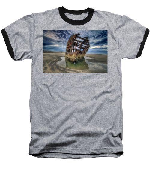 Peter Iredale At Dawn Baseball T-Shirt