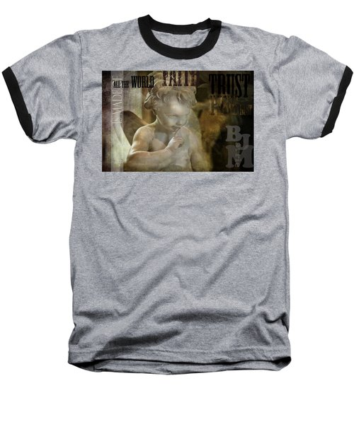 Peter Pan Pixie Dust Baseball T-Shirt