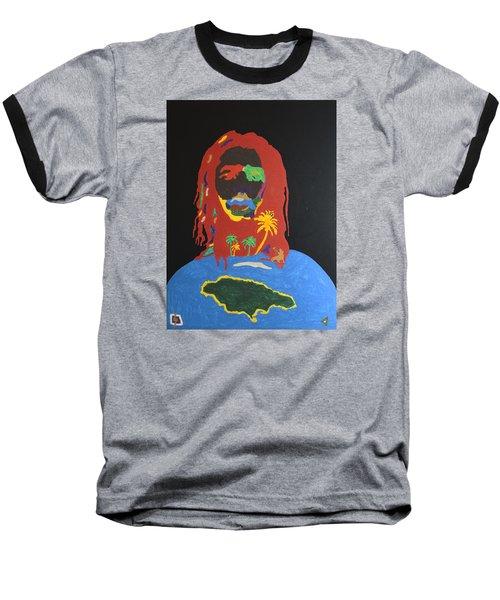 Peter Tosh Bush Doctor Baseball T-Shirt by Stormm Bradshaw