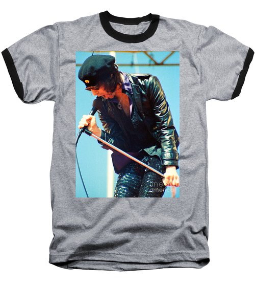 Peter Wolf From J Geils Band - Day On The Green July 4th 1979 Baseball T-Shirt