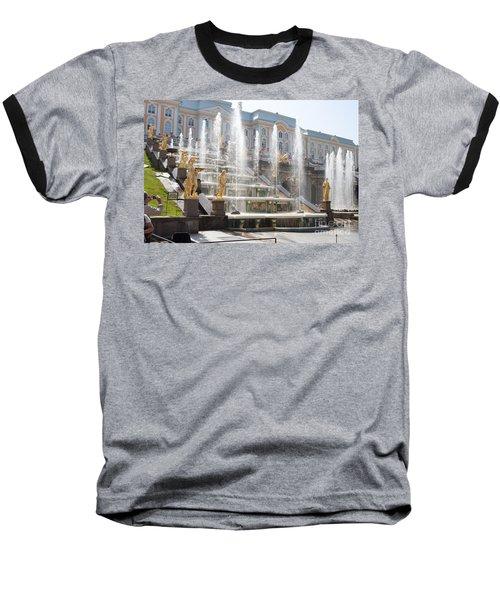 Peterhof Palace Fountains Baseball T-Shirt