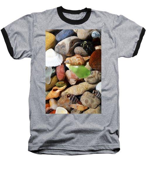Petoskey Stones L Baseball T-Shirt
