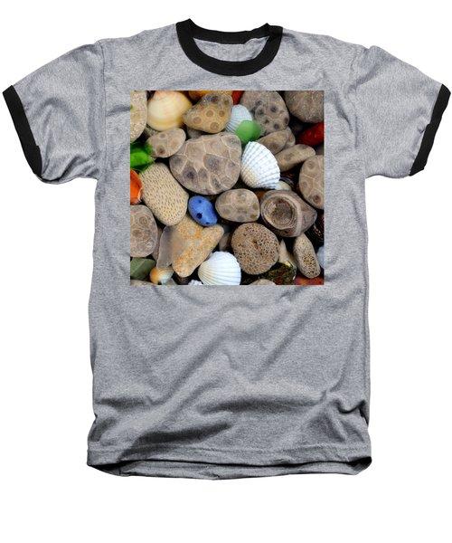 Petoskey Stones V Baseball T-Shirt