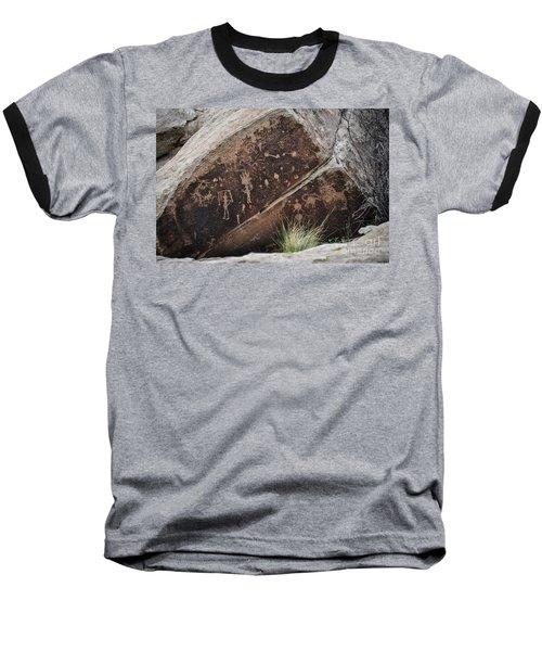 Petroglyphs Baseball T-Shirt