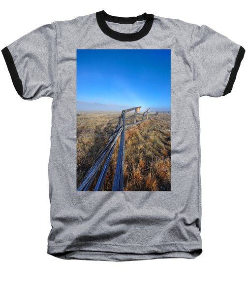 Baseball T-Shirt featuring the photograph Pettit Fog by David Andersen