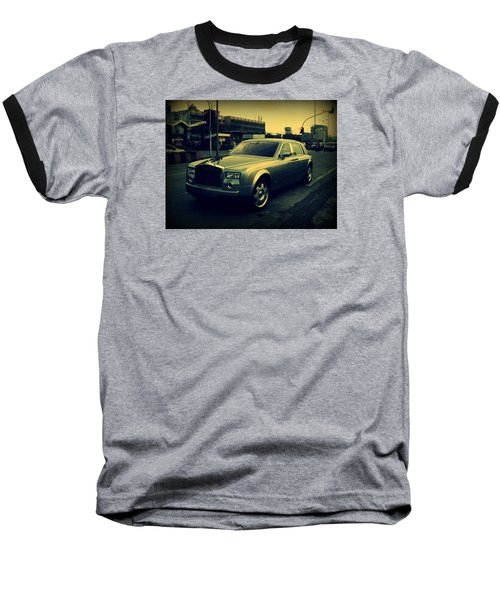 Rolls Royce Phantom Baseball T-Shirt by Salman Ravish