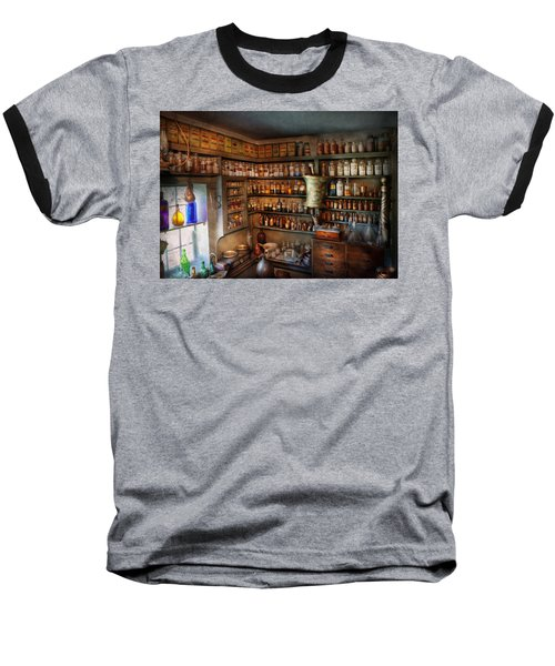 Pharmacy - Medicinal Chemistry Baseball T-Shirt by Mike Savad