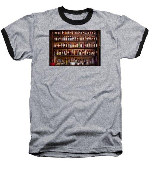 Pharmacy - Pharma-palooza  Baseball T-Shirt by Mike Savad