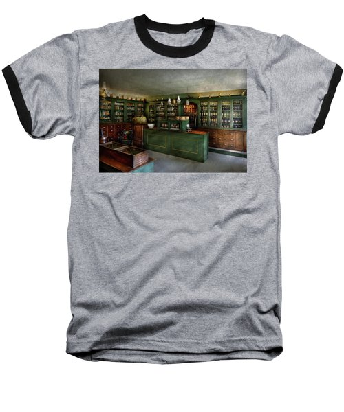 Pharmacy - The Chemist Shop  Baseball T-Shirt by Mike Savad