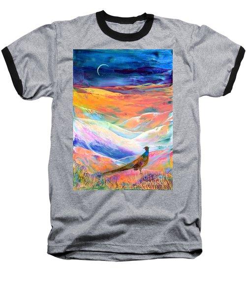 Pheasant Moon Baseball T-Shirt