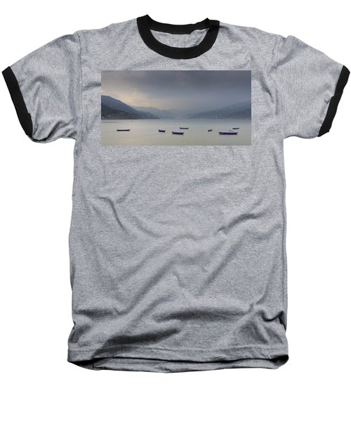Phewa Lake In Pokhara Baseball T-Shirt