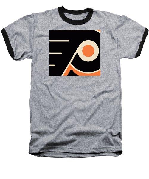 Philadelphia Flyers Baseball T-Shirt by Tony Rubino