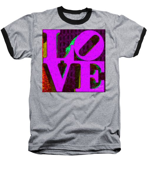 Philadelphia Love - Painterly V2 Baseball T-Shirt