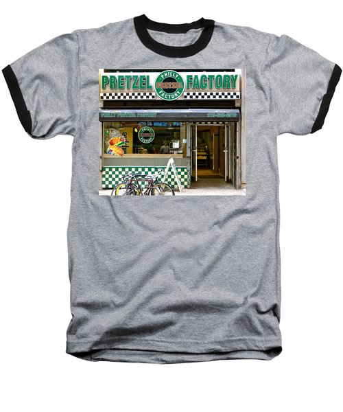 Philly Pretzel Factory Baseball T-Shirt