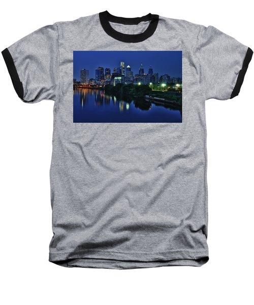 Philly Skyline Baseball T-Shirt