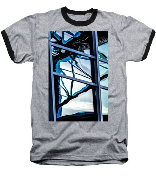 Phoenix Window Reflecting Grids Baseball T-Shirt