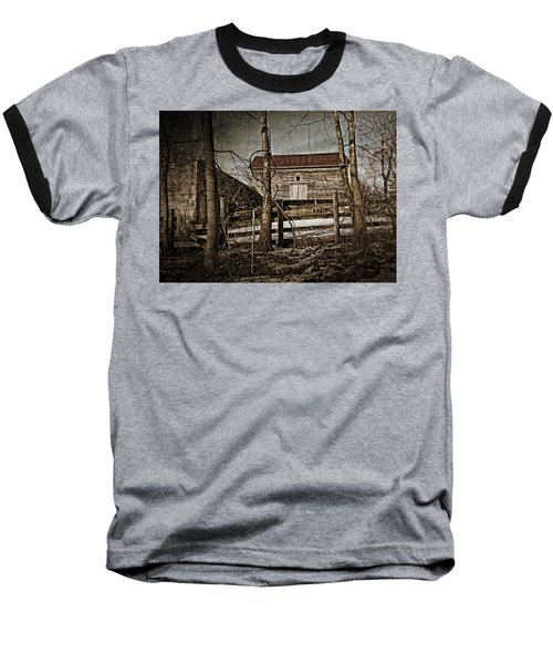 Country Barn Photograph Baseball T-Shirt