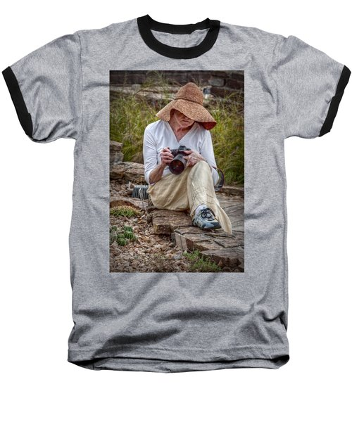 Photographer Baseball T-Shirt
