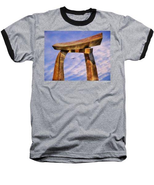 Pi In The Sky Baseball T-Shirt by Paul Wear
