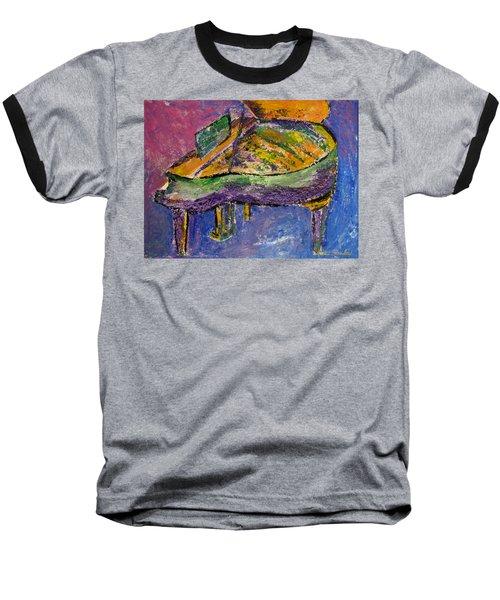 Piano Purple Baseball T-Shirt