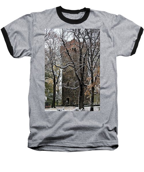 Piastowska Tower In Cieszyn Baseball T-Shirt