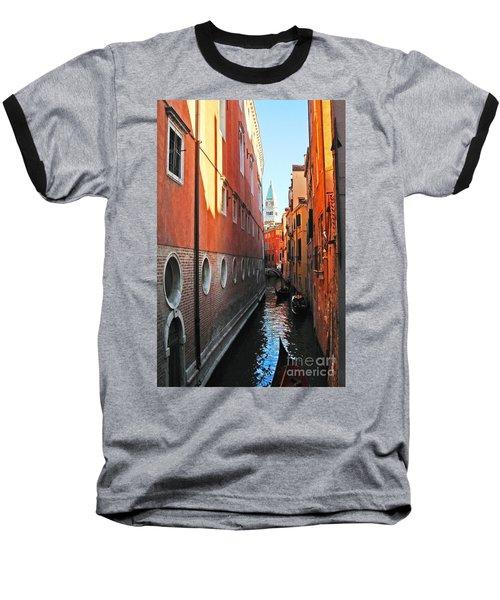 Piazza San Marco Baseball T-Shirt