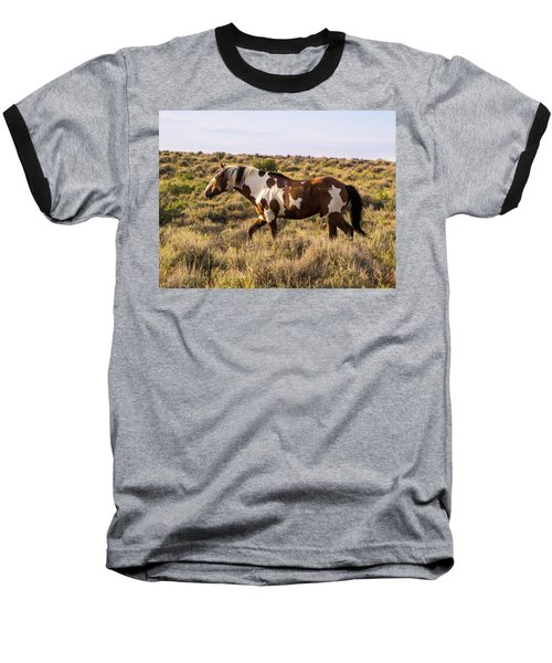 Picasso - King Of Sand Wash Basin Baseball T-Shirt by Nadja Rider