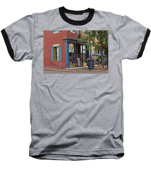 Picasso's N Main St Charles Mo Dsc00900  Baseball T-Shirt by Greg Kluempers