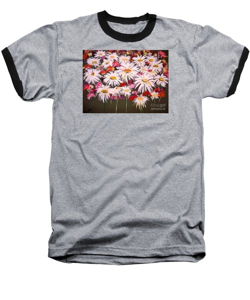 Baseball T-Shirt featuring the painting Pick One For Me by Lori  Lovetere