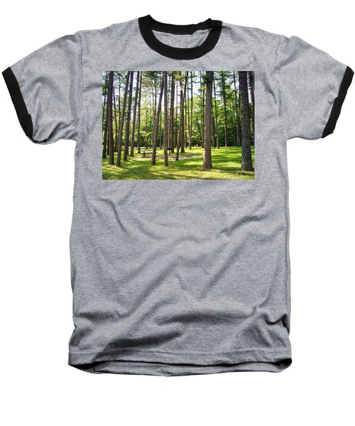 Picnic In The Pines Baseball T-Shirt
