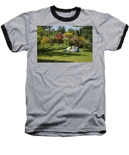 Summer Picnic Baseball T-Shirt by Spikey Mouse Photography