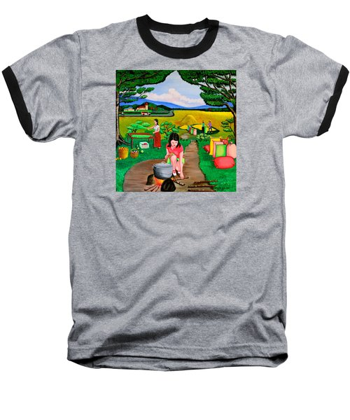 Picnic With The Farmers Baseball T-Shirt