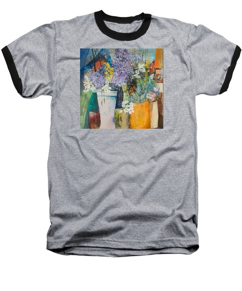 Picture Puzzle Baseball T-Shirt by Lee Beuther