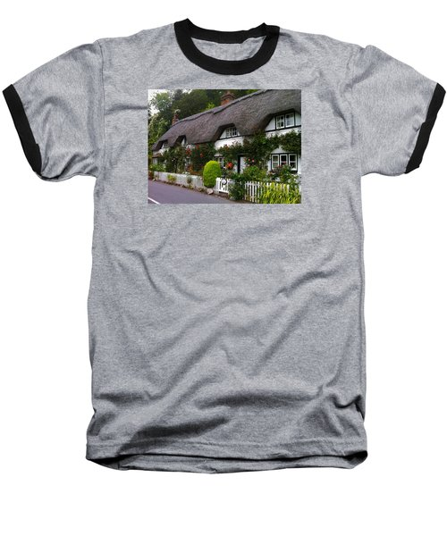 Picturesque Cottage Baseball T-Shirt