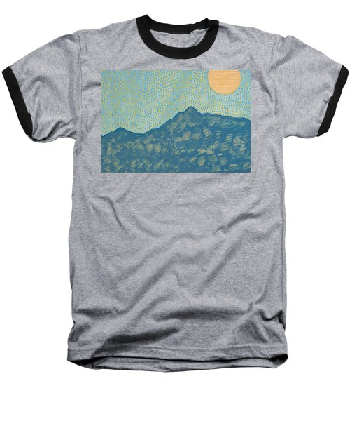 Picuris Mountains Original Painting Baseball T-Shirt