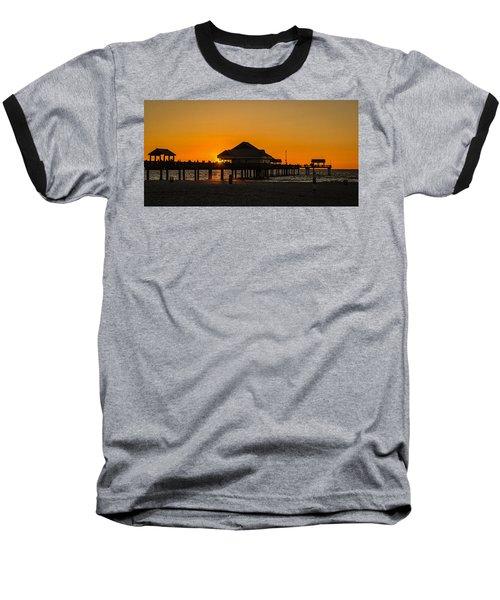 Pier 60 Sunset Baseball T-Shirt