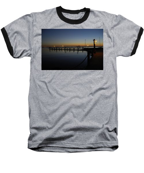 Pier At Chandlers Landing Rockwall Tx Baseball T-Shirt